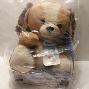 NWT Cloud Pets As Seen on TV. Puppy Dog Plush